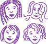 four girls logo
